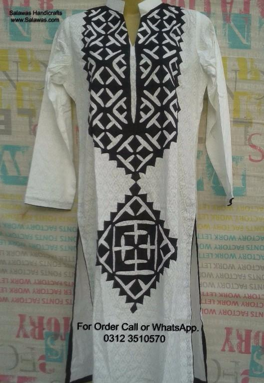 aplic work kurti  u0026 aplic work shirts new designs  karachi