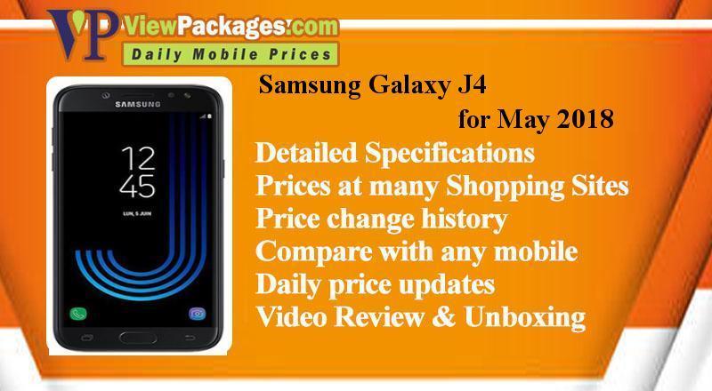 93743f5a6 Samsung Galaxy J4 Price in Pakistan - Specs