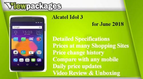 Alcatel Idol 3 Price in Pakistan - Specs, Review, gulberg